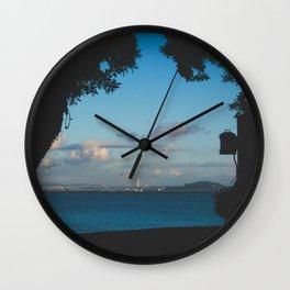 Sausalito Window Wall Clock