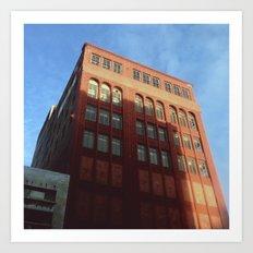 1400 Woodward - Downtown Detroit Art Print