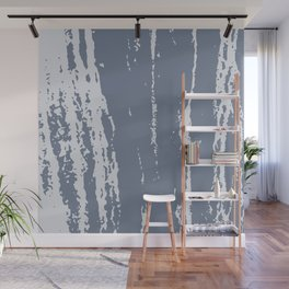 Scratched Paint Wall Mural