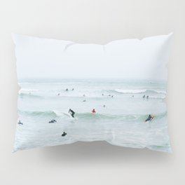 Tiny Surfers Lima, Peru 2 Pillow Sham