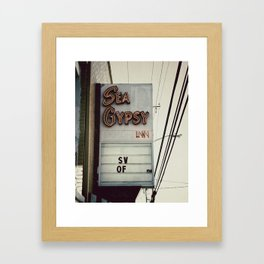 Sea Gypsy Inn Framed Art Print