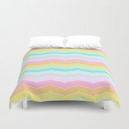 Pastel Stripes Duvet Cover