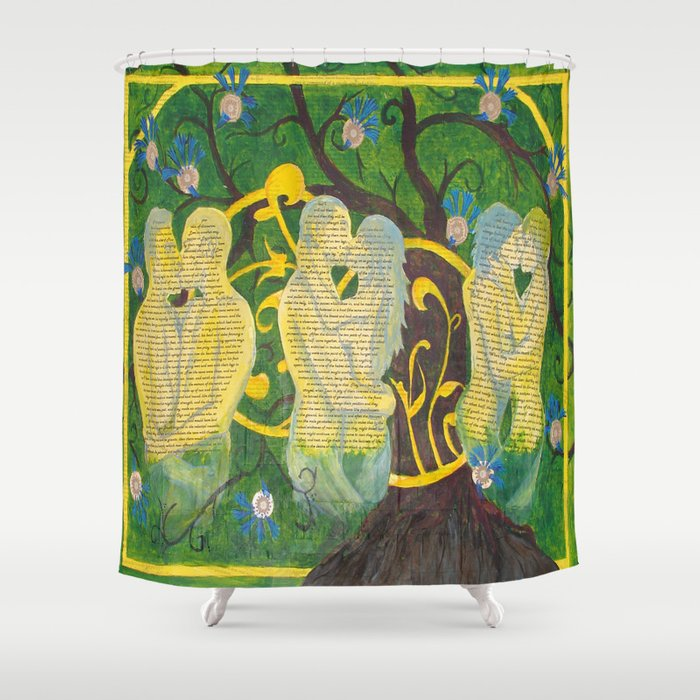 Split Aparts Shower Curtain By Janinwise Society6