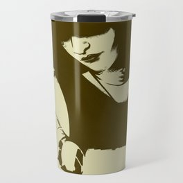 Tribute to Siouxsie Sioux Travel Mug