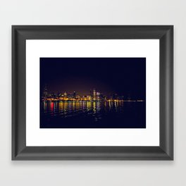 Reflections of a City Framed Art Print