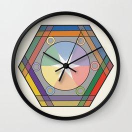 Babbitt's Chromatic Harmony of Gradation and Contrast, 1878, Remake, Interpretation Wall Clock