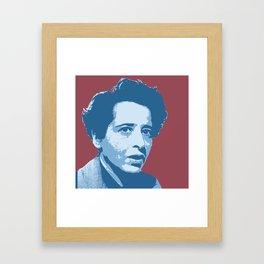Hannah Arendt Framed Art Print