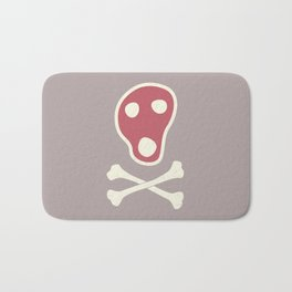 Pirates of Steaks Bath Mat