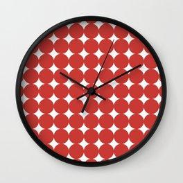 Retro Circles & Diamonds 07 Wall Clock
