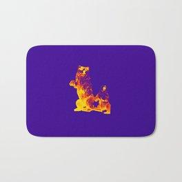 Ours Republique purple Bath Mat