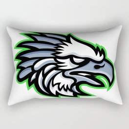 American Harpy Eagle Mascot Rectangular Pillow