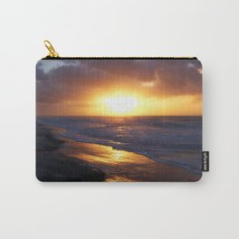 Sunrise Over Atlantic Ocean Carry-All Pouch