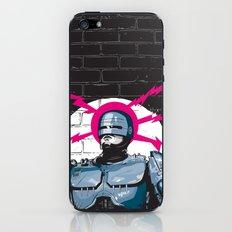 Robocop In Love iPhone & iPod Skin