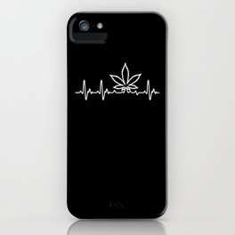 Heart For Weed iPhone Case