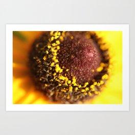 Yellow Company Art Print