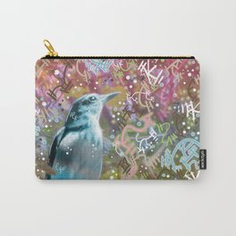 Little Scrub Jay Carry-All Pouch