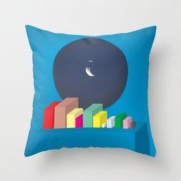 (ISO)TOPIA Throw Pillow