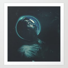 Project Apollo - 10 Art Print