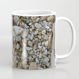 Heart in the rocks along the Mississippi River Coffee Mug