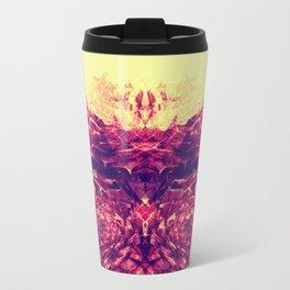 Mirroring Petals Travel Mug