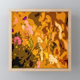 Autumn bouquet wildflowers #decor #society6 Framed Mini Art Print