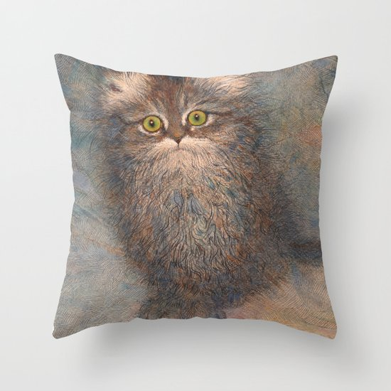 Busya Throw Pillow