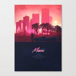 HOTLINE MIAMI ORIGINAL REVAMPED Canvas Print