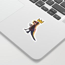 Basquiat Dinosaur Sticker