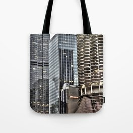 This is Steve. This Is Chicago. Hi! Tote Bag