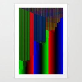 R Experiment 3 (quicksort v1) Art Print