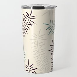 Bamboo branches and leaves Travel Mug