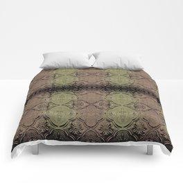 Stamp hue Comforters