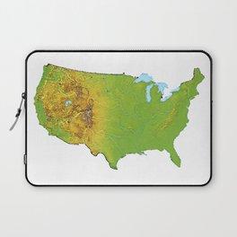 Physically United States Laptop Sleeve