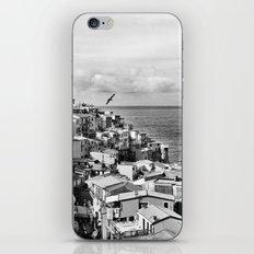 Cinque Terre BW iPhone & iPod Skin
