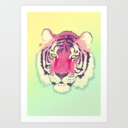 Electigre Art Print