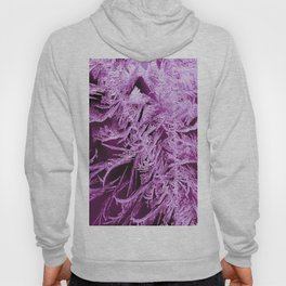 White Ice Crystals On A Purple Background #decor #society6 #homedecor Hoody