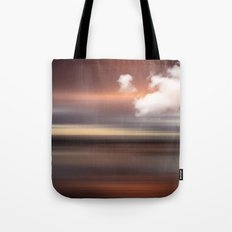 SEASCAPE - abstract landscape in glowing copper tones Tote Bag