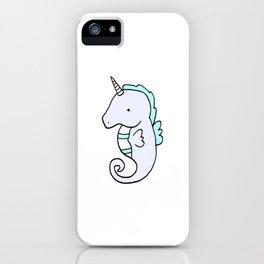 SeaHorseicorn iPhone Case