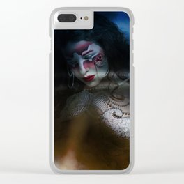"""""""In darkness shines beauty to forgiveness..."""" Clear iPhone Case"""