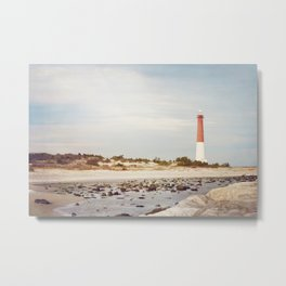Barnegat Lighthouse Long Beach Island New Jersey Shore, Old Barney Light house LBI Metal Print