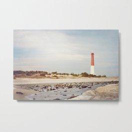 Barnegat Lighthouse Long Beach Island New Jersey Shore, Old Barney Light house LBI Metal Print