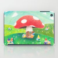 library iPad Cases featuring Mushroom library by ah li