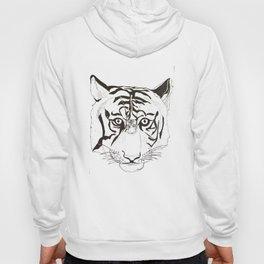 Triptych Tiger Hoody
