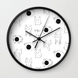 Ghost Trio Wall Clock