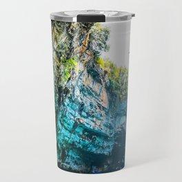 Sea Cave in Greece Travel Mug