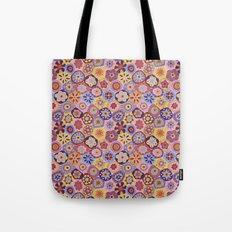 Millefiori-Sunset colorway Tote Bag