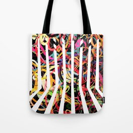 Graphic design six by Leslie Harlow Tote Bag