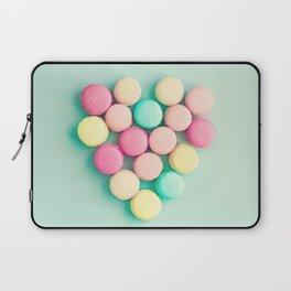 Macarons, macaroons heart II, pop art Laptop Sleeve