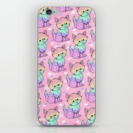 Rainbow Cats iPhone Skin