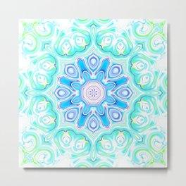 Star Flower of Symmetry 757 Metal Print